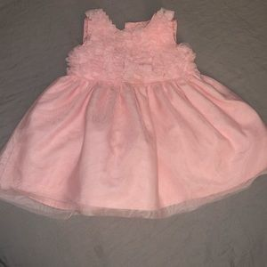 Ruffle top tulle dress